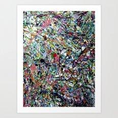 After Pollock Art Print