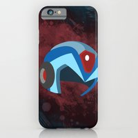 iPhone & iPod Case featuring Mega Man  by Amanda Todd
