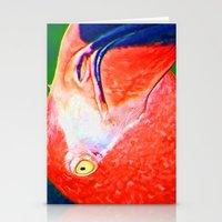Flamingo Nose Stationery Cards