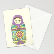 Russian Doll Stationery Cards