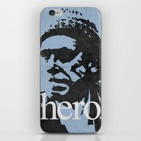 Charles Bukowski - Hero. iPhone & iPod Skin