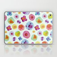 Flower Drops Laptop & iPad Skin
