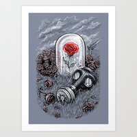The Last Flower On Earth Art Print