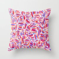 Traffic 2 Throw Pillow
