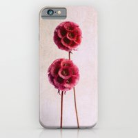 iPhone & iPod Case featuring pink balls by Claudia Drossert