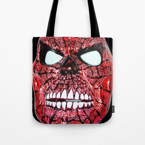 Spidey Skull Tote Bag