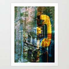 the last call Art Print
