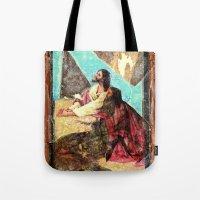 double jesus Tote Bag