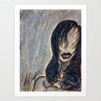 Faceless Identity Of Min… Art Print