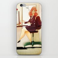 Secretary iPhone & iPod Skin