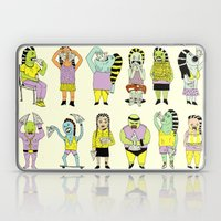 KIDS AND PIZZA Laptop & iPad Skin