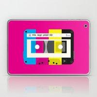 CMYK Mix Tape Called Lif… Laptop & iPad Skin