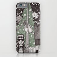 iPhone & iPod Case featuring Of Snow and Stars and Christmas Wishes by Judith Clay