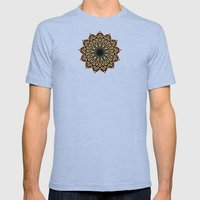 Wedding Basket v5 Mens Fitted Tee Tri-Blue SMALL