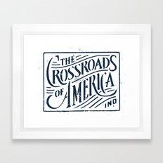 Indiana Framed Art Print