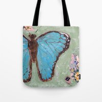 Take Flight Butterfly Tote Bag