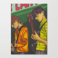 Blueboys Canvas Print