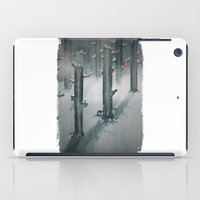 The Woods In Winter iPad Case