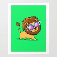 Fabulous Lion Art Print