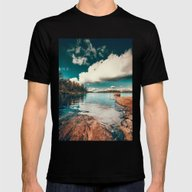 Belle Svezia Mens Fitted Tee Black SMALL