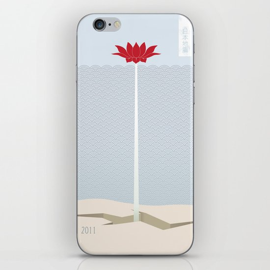 Japan Earthquake 2011 no.1 iPhone & iPod Skin