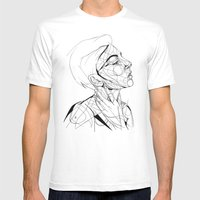 Madeline Mens Fitted Tee White SMALL
