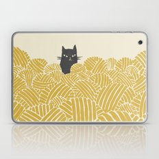 Cat and Yarn Laptop & iPad Skin