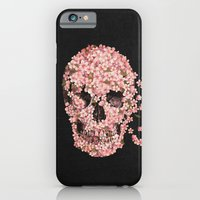 floral iPhone & iPod Cases featuring A Beautiful Death  by Terry Fan