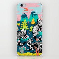 Otters iPhone & iPod Skin