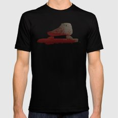 Bloody Skating - The Race is Over Mens Fitted Tee SMALL Black