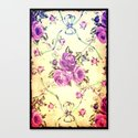 Vintage Flowers XX - for iphone Canvas Print