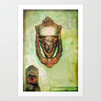 Brass Knocker Art Print