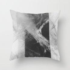 Crystal Depths Throw Pillow