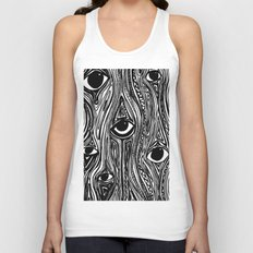 Eyes (Insomnia) Unisex Tank Top