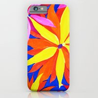 iPhone & iPod Case featuring Big Flowers by Clara Ungaretti