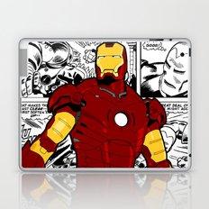 Iron Man Comic Laptop & iPad Skin