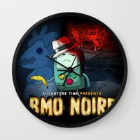 Adventure Time: BMO Noire Wall Clock