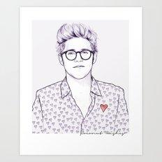 Sweetheart N Art Print