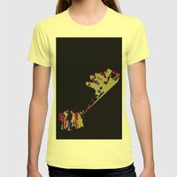 undercover Womens Fitted Tee Lemon SMALL