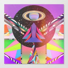 Simetria Celestial 1 Canvas Print