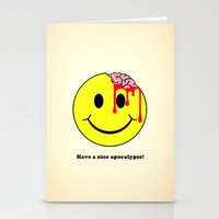 Have A Nice Apocalypse! Stationery Cards