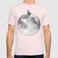Lost In A Space / Moonel… Mens Fitted Tee Light Pink SMALL