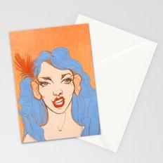 selfie girl_2 Stationery Cards