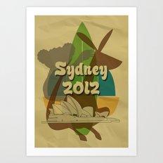 Sydney 2012 Art Print