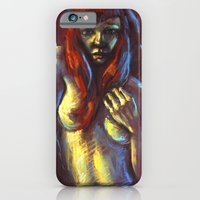 Red Hair iPhone 6 Slim Case
