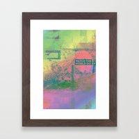 Watch The World Go By Framed Art Print
