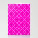 Moroccan Magenta Stationery Cards