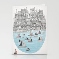 Stationery Cards featuring Joppa by David Fleck