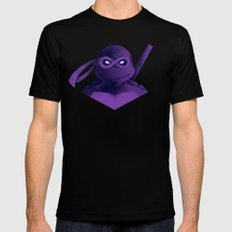 Donatello Forever Black SMALL Mens Fitted Tee