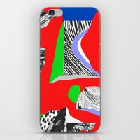 Mountain expedition iPhone & iPod Skin
